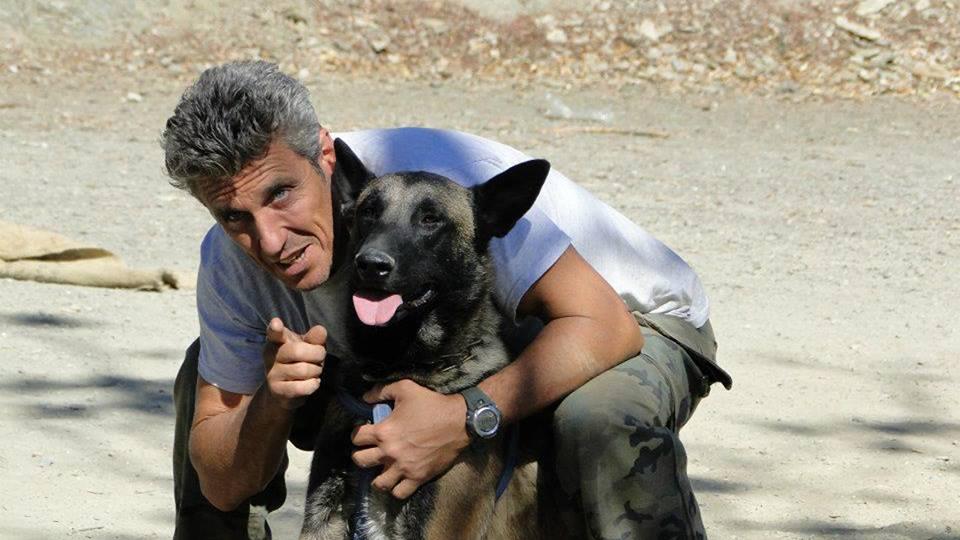 Jean Paul Correa, instructor canino